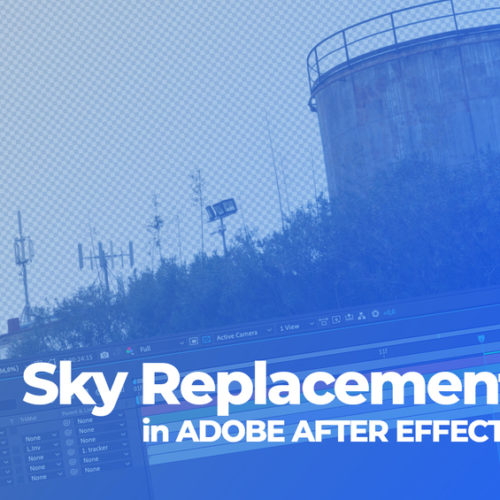 Sostituire il cielo in AFTER EFFECTS